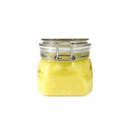 L'Clair Sea Salt With Ginger Root Oil Lemongrass 600g