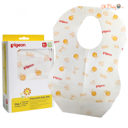 Pigeon Disposible Baby Bibs 20 pcs