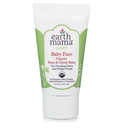 Earth Mama Organic Baby Face Nose & Cheek Balm (15ml/60ml)