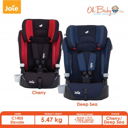 Joie Elevate Booster Car Seat 9 Months -12 Years