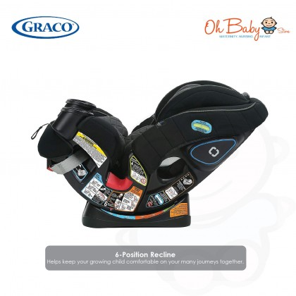 Graco 4Ever All-in-One Convertible Car Seat Quick Remove Cover featuring TrueShield Technology
