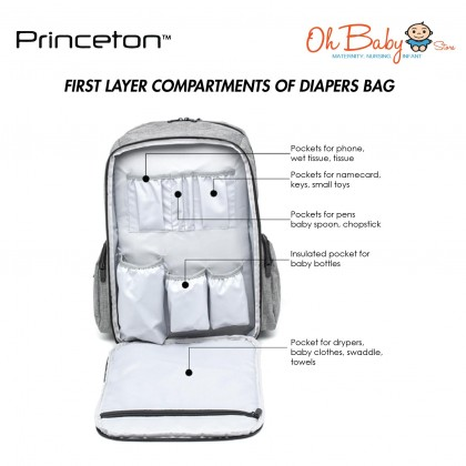 Princeton Starwalker Series Diapers Bag