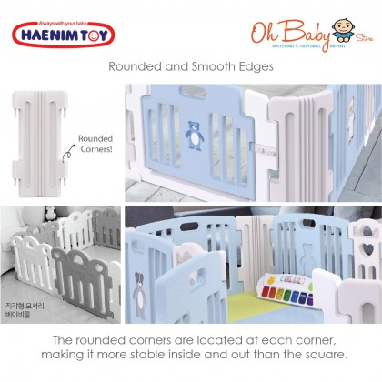 Haenim Signature Baby Room 6 Panel With Playmat