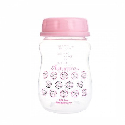Autumnz - Wide Neck B/Milk Storage Bottle (4 Btls) 7oz