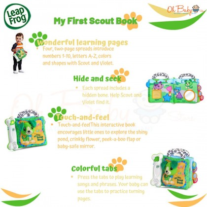 Leapfrog My First Scout Book™ Toy (3-24 months)