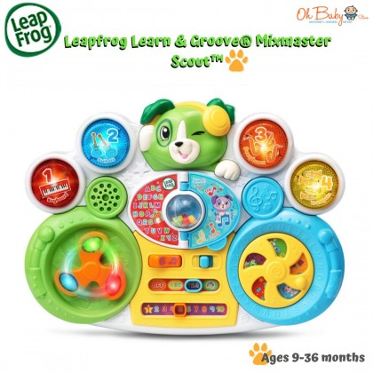 Leapfrog Learn & Groove® Mixmaster Scout™ Toy (9-36months+)