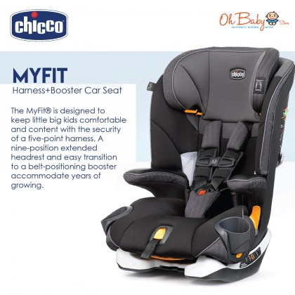 Chicco MyFit Harness + Booster Car Seat 18-45kg Free Gift