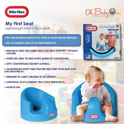 Little Tikes My First Seat Baby Infant Foam Floor Seat Sitting Support