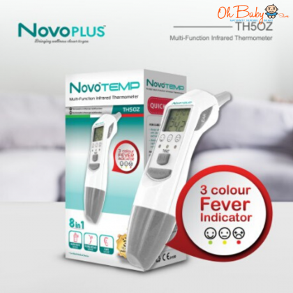 NovoPLUS NovoTEMP Multi-Infrared 8 in 1 Thermometer TH50Z
