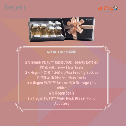 Spectra S1 Plus Hospital Grade Double Rechargeable Electric Breast Pump with Hegen PCTO™ Complete Starter Kit PPSU (Wide Neck Adapter)& Handfree Cup Package