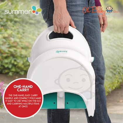 Summer Infant Sit n Style Compact Folding Baby Booster Seat (6 months+)