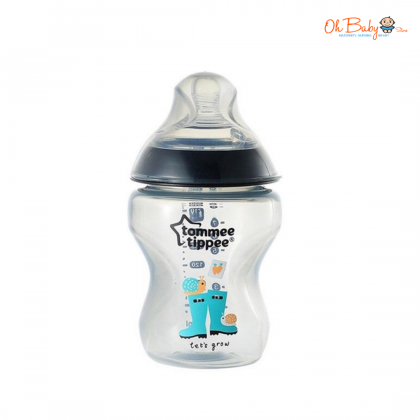 Tommee Tippee Closer To Nature Decorated Single 9oz