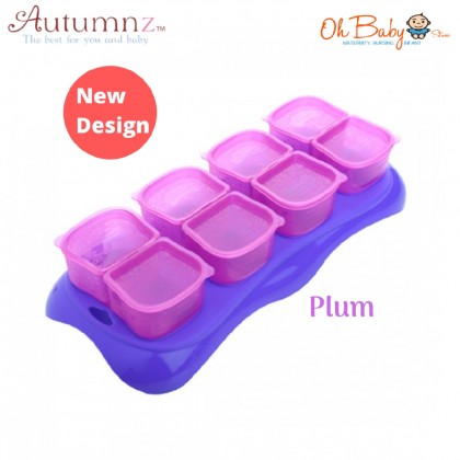 Autumnz Easy Baby Food Storage Cups - Combination Colour (2oz)
