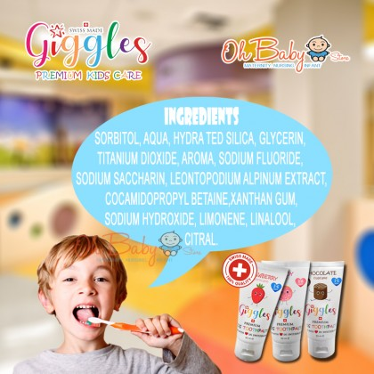 Giggles Premium Kids Toothpaste 1-6 years