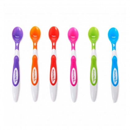 Munchkin Soft Tip Infant Spoons (6 Pieces)