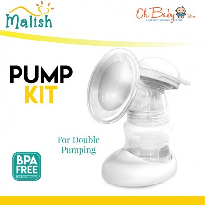 Malish Pump Kit Breast Shield with Y Connector