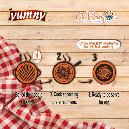 Yumny Pumpkin Dried Noodle Family Pack 150 g