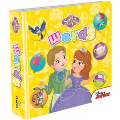 Disney Junior Padded Board Book Words