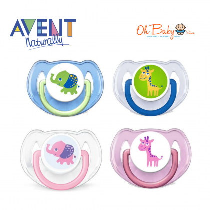 Philips Avent Classic Soother Elephant & Giraffe ( 6-18 m )