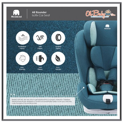 Meinkind All Rounder Isofix Convertible Car Seat
