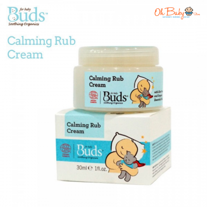 Buds Soothing Organics - Calming Rub Cream 30ml