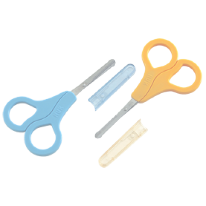 NUK Safety Baby Scissors with Cover 1pc