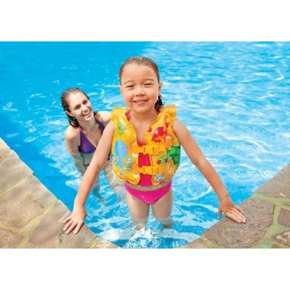 Intex - Tropical Buddies Swim Vest - BEST BUY
