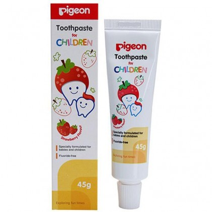 Pigeon - Children Toothpaste (Strawberry)