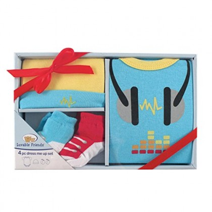 Luvable Friends - 4pcs Dress Me Up Gift Set