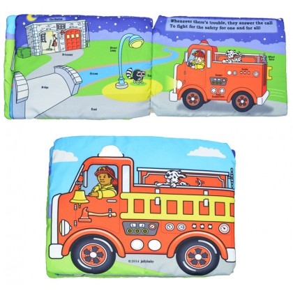 Fire Engine Light & Sound Cloth Book