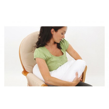 Dreamgenii Pregnancy And Feeding Support Pillow - White