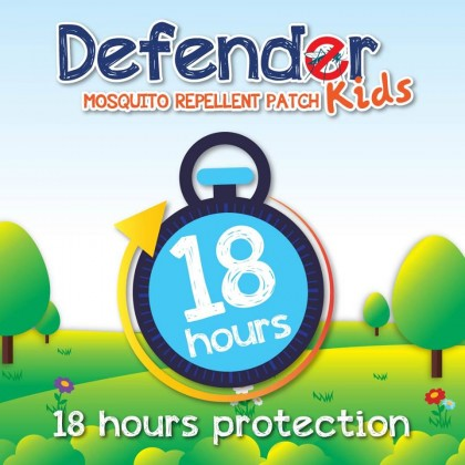 Stoper - Mosquito Repellant Patch//Defender Kids 18's