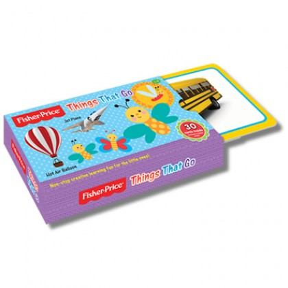 Fisher Price - Flash Card Thing That Go