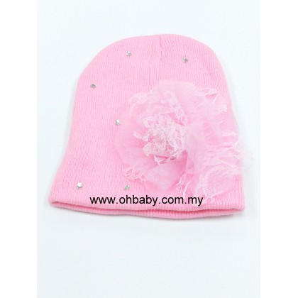 Lovable - Korean Style Baby Hat Pink