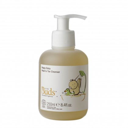 Buds BCO Happy Baby Head To Toe Cleanser 250ml