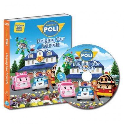Robocar Poli DVD No. 05 Helping Our Friends