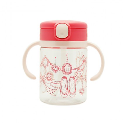 Richell - LC Straw Mug R 200ml Pink