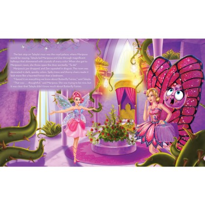 Barbie - Mariposa and the Fairy Princess: A Storybook