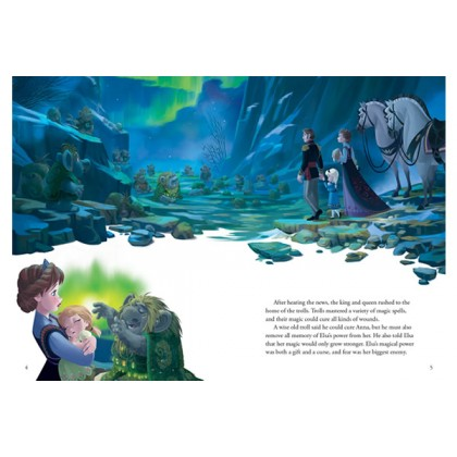 Disney Frozen - A Magical Tale Storybook with 3D Scene Box Set
