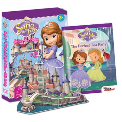 Sofia the First - Sofia's Tea Party with 3D Model Scene Box Set