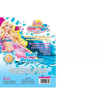 Barbie in A Mermaid Tale 2: Surf Princess (A Barbie Early Reader)