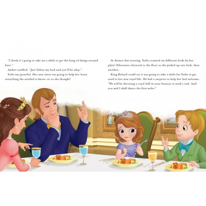 Sofia the First: Once Upon A Princess Read Along Storybook with CD
