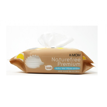 K Mom - Natural Pureness Wet Wipes Premium 100s