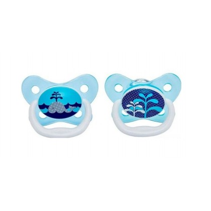Dr.Brown's  PreVent Butterfly Soother Stage 1 (0-6m) - 2pcs