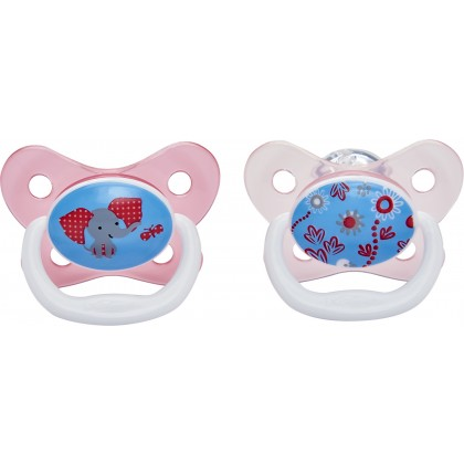 Dr.Brown's  PreVent Butterfly Soother Stage 2 (6-12m) - 2pcs