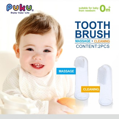 Puku - Finger Toothbrush 2pcs