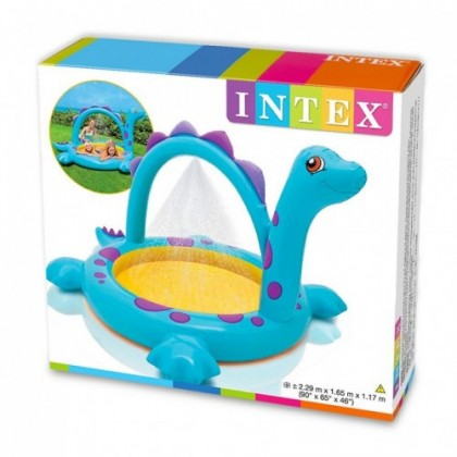 "Intex - Dino Spray Pool (90"" x 65"" x 46"")"
