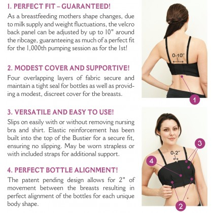 Simple Wisher - Hands Free Pumping Bra Pink