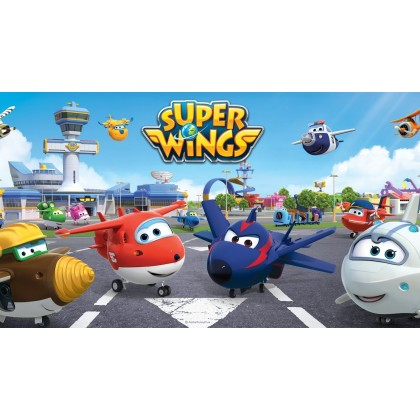Super Wings Toy - Vroom 'n' Zoom! Jett