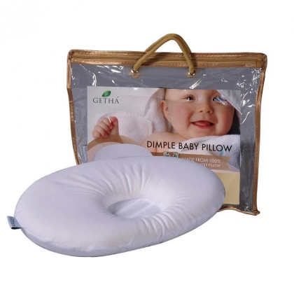Getha - Baby Latex Dimple Pillow With Cover